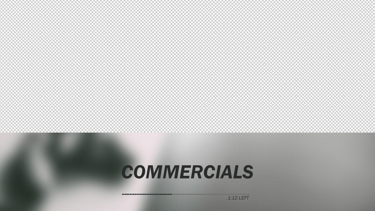 PS4 Commercials