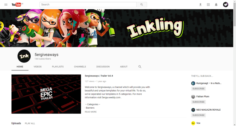Inkling Banner Example