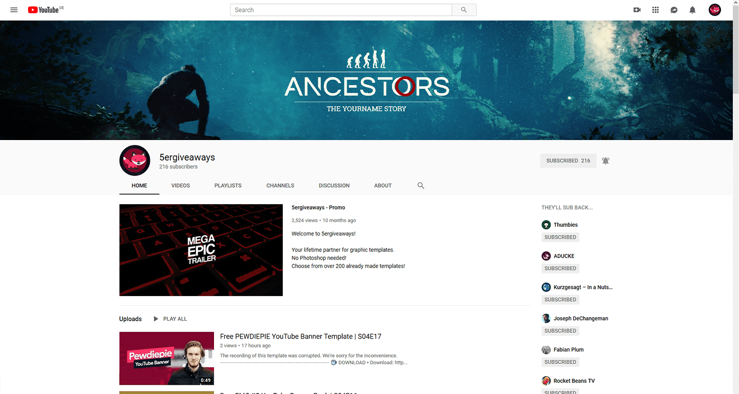 The Hub Banner Example
