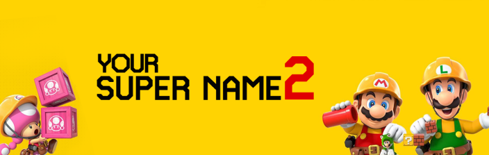 Mario Maker 2 Live Twitch Cover