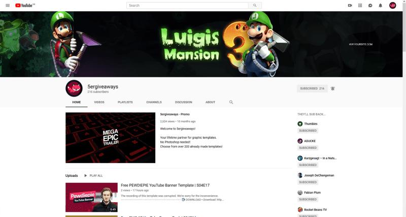 Luigis Mansion 3 Banner Example