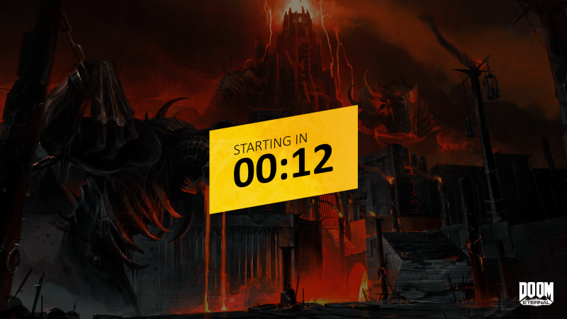 Doom Eternal Countdown
