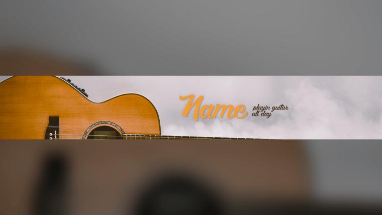 Guitar Banner