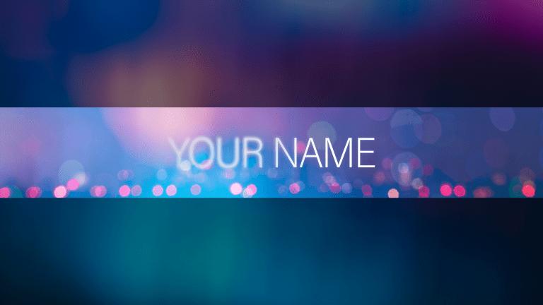 Blur Banner