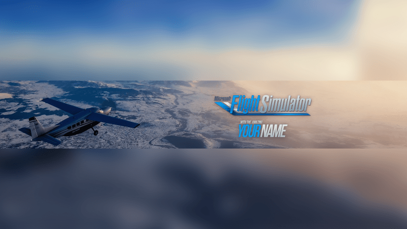 Flight Simulator Banner