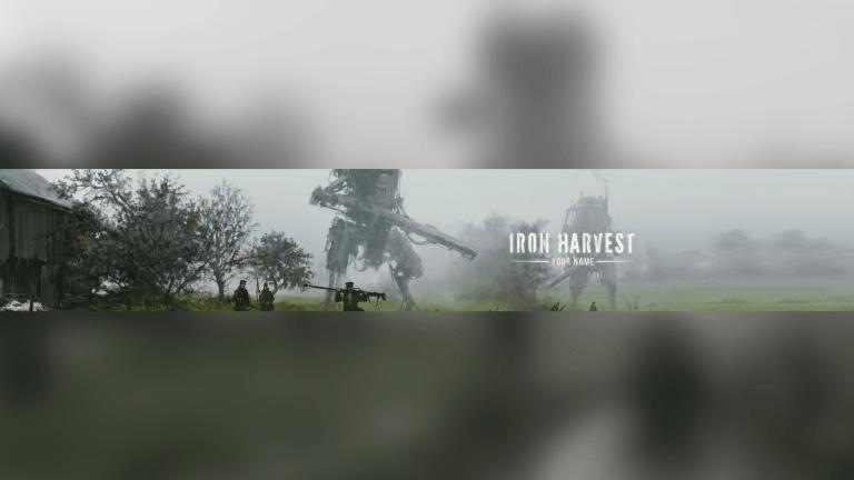 Iron Harvest YouTube Banner