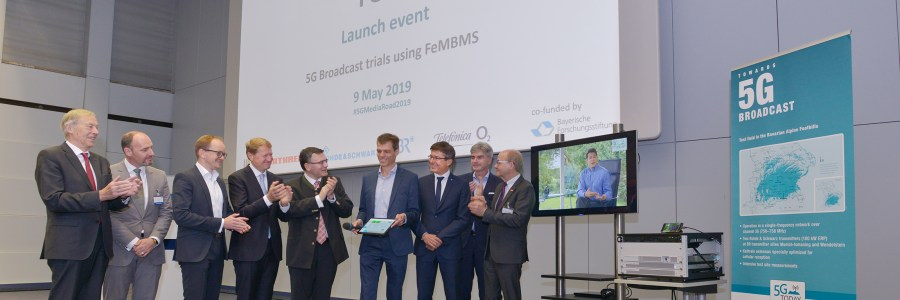 First 5G field trial for broadcast transmission starts operations in Bavaria