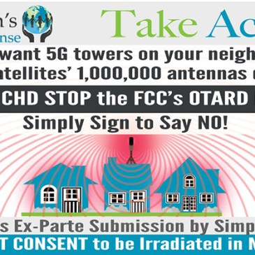 Click to Sign CHD Ex Parte Letter to FCC