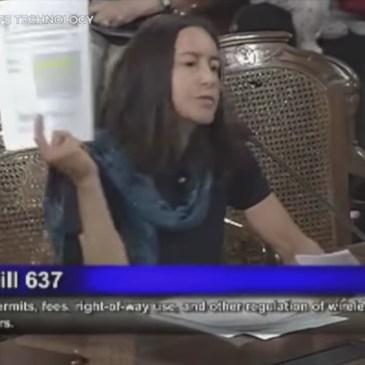 Dr Sharon Goldberg Testifies on Health Hazards of EMF Radiation