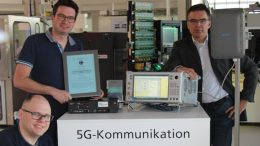 SmartFactoryOWL in Lemgo equipped with 5G mobile network