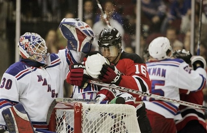 Rangers Devils Hockey
