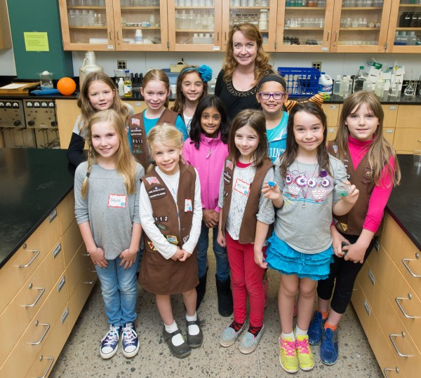 Encouraging Girls In Stem - College Of Engineering