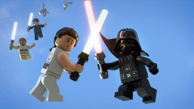 Rey vs.  Darth Vader: The Lego Holiday Special turns Star Wars upside down with time travel