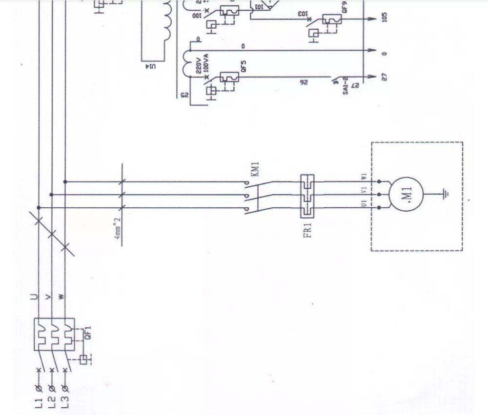 medium resolution of electrical diagram of hydraulic shearing machine low cut coincidence low cut coincidence