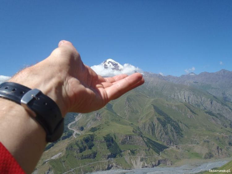 Kazbek - lodowy szczyt - Piąty Kierunek01