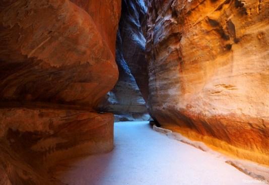Petra - wąwóz al-Siq - Jordania - Piąty Kierunek09