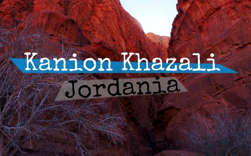 Kanion Khazali - Jordania - Piąty Kierunek