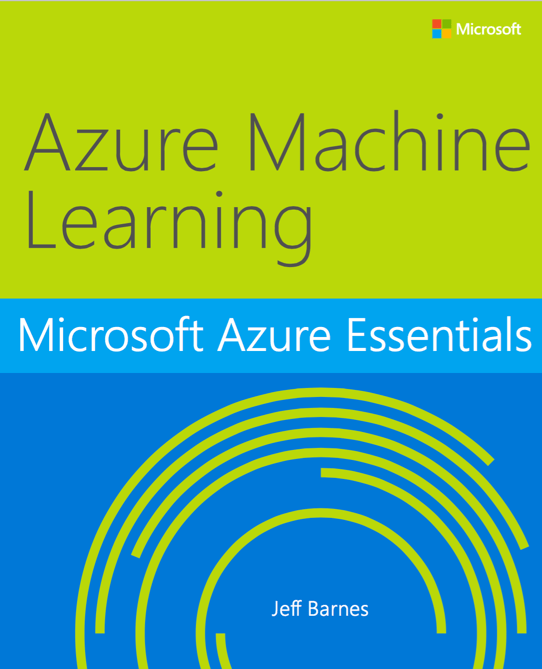 Free MS Press ebook on Azure Machine Learning