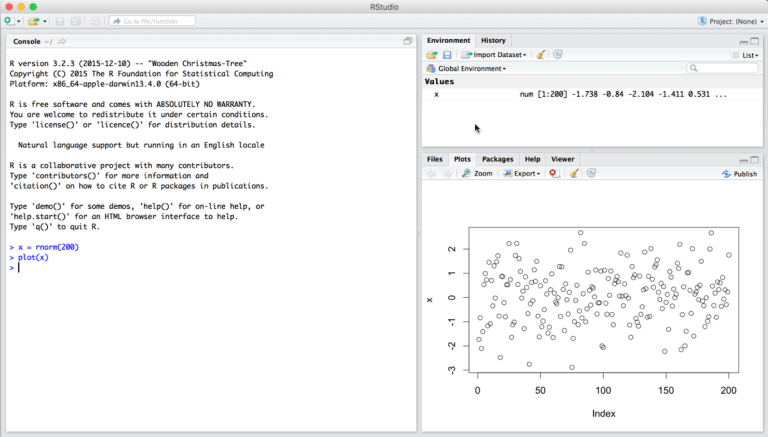 How To Install R and RStudio on a Mac