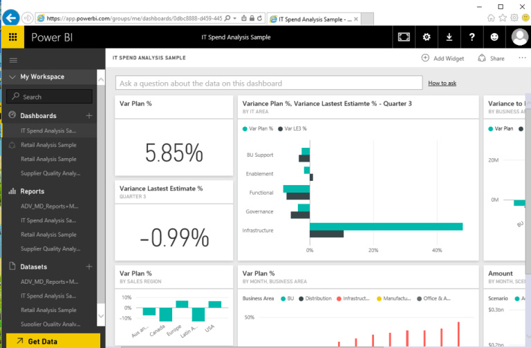 Power BI APP Update: Real Time & R-Tiles Support