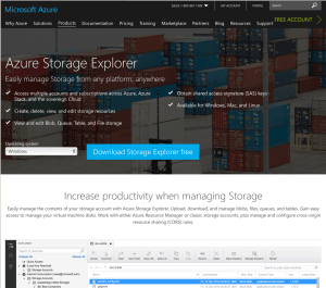 Getting the Latest Azure Storage Explorer Version - 5MinuteBI