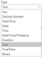 Parameter Types