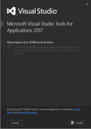 SSDT for Visual Studio 2017 - Fixing the Install Error - 5MinuteBI