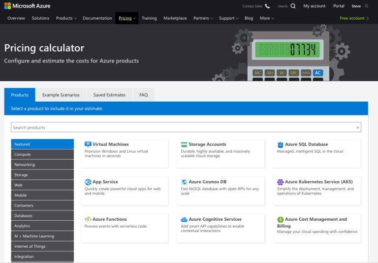 How to Estimate Your Azure Solution Costs