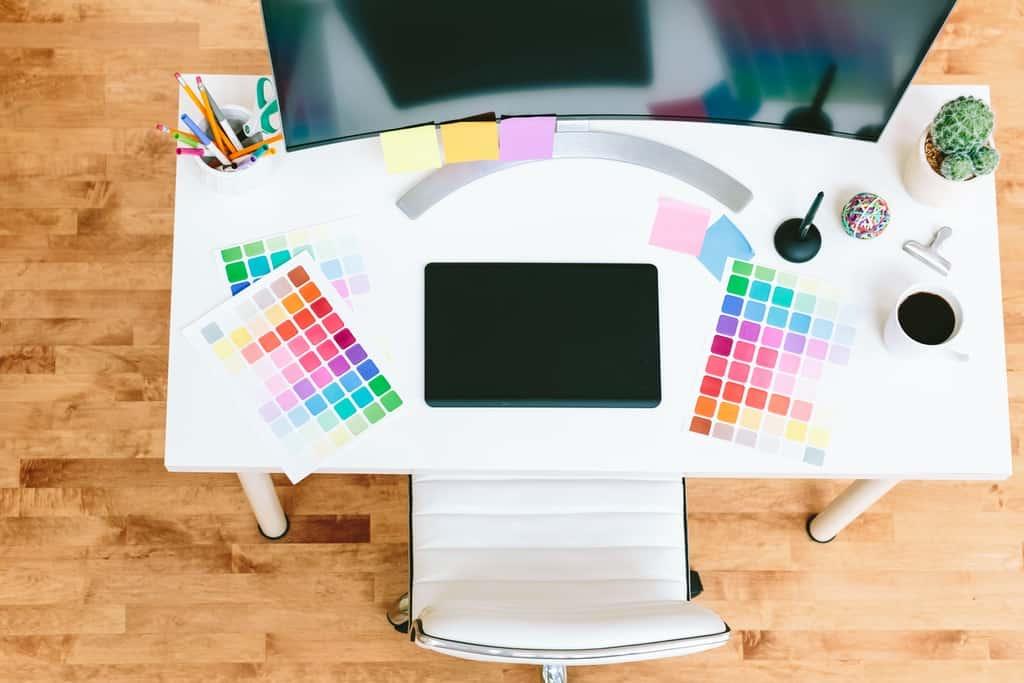 Graphic work desk Power BI