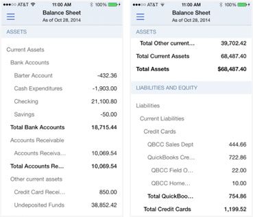 Can you access QuickBooks Online with your iPhone or