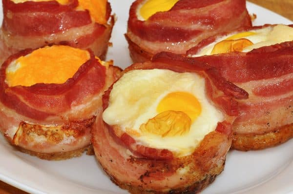 Bacon and Egg Cupcakes- Keto Breakfast