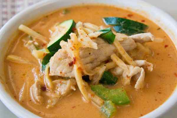 Keto-Thai Chicken Red Curry