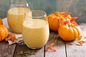 pumpkin spice keto smoothie