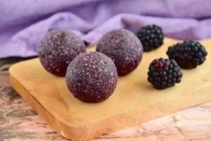 Crunchy Blackberry Fat Bomb