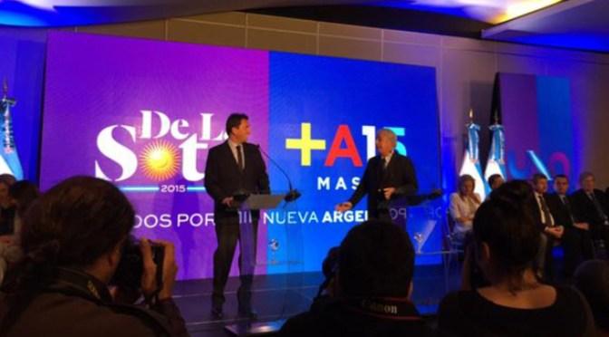 """Sergio Massa y De la Sota presentaron """"Unidos por una Nueva Argentina"""""""
