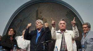 Moyano y Barrionuevo - Paro General 31 de Marzo 2015