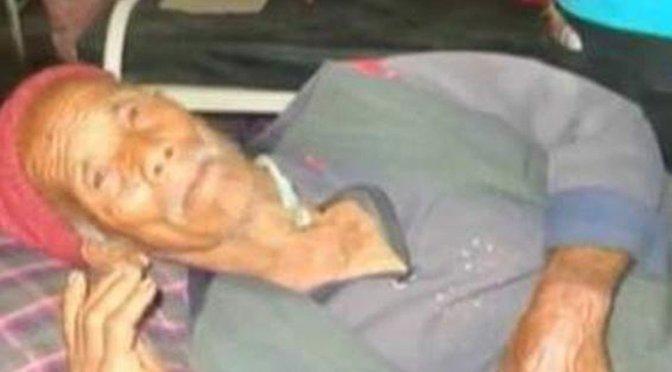 Un nepalí de 101 años fue rescatado con vida una semana después del terremoto