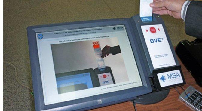 Hoy se vota en Salta