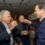 Lejos de los rumores, Massa se muestra en Córdoba con De la Sota
