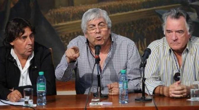 Hugo Moyano ratificó que tomarán nuevas medidas de fuerza si no reciben respuesta