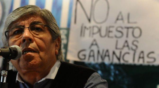"""Moyano: """"El Peronismo es dignidad. No es lo que hace este Gobierno"""""""