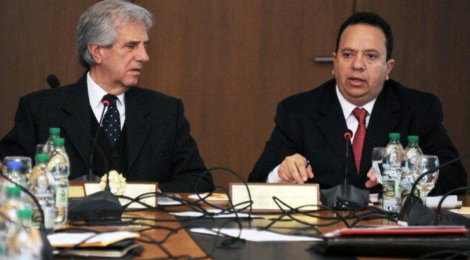Uruguay y Venezuela canjean petróleo por comida