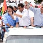 Jujuy: Sergio Massa prometió terminar con las extorsiones de Milagro Sala