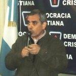 El Presidente de la Democracia Cristiana Porteña Carlos Lionel Traboulsi en campaña internacional
