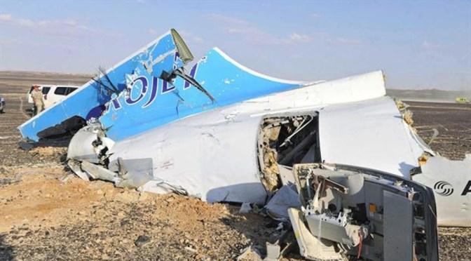 Sinaí: caída del avión ruso