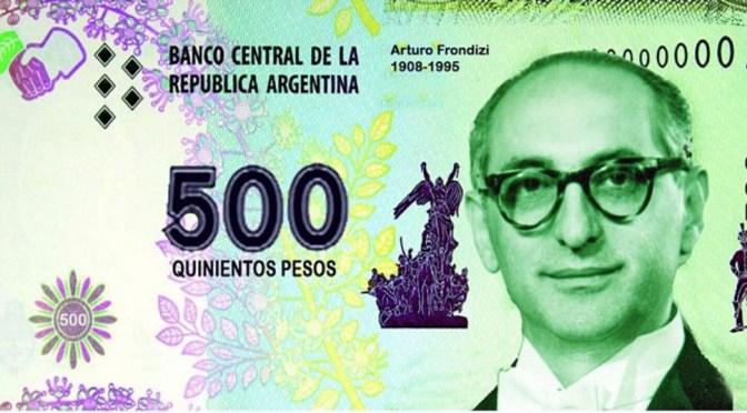 El Gobierno de Mauricio Macri planea lanzar un billete de 500 pesos