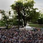 Fiscales y otro homenaje a Nisman donde denunciaron que fue asesinado
