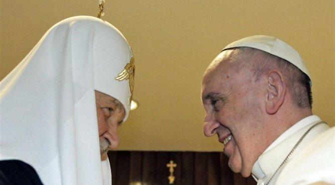 La Habana: El Papa Francisco y el Patriarca ruso Kirill formularon un llamamiento a la unidad del cristianismo