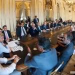 El Gobierno recibió a jueces para avanzar en la reforma electoral