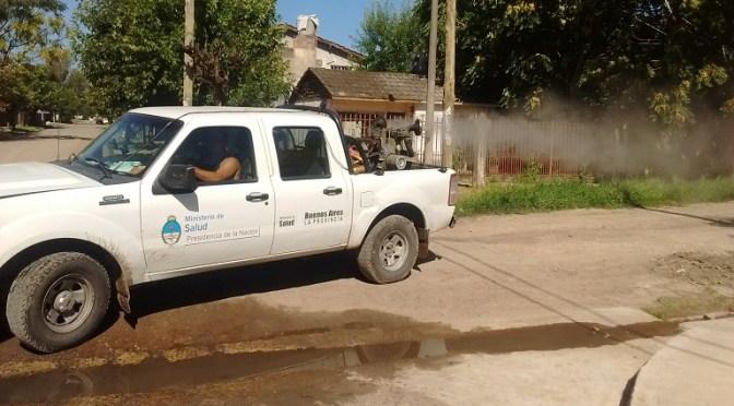 Moreno: Municipio y Provincia realizaron operativo de fumigación